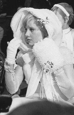 En Mode Robe De Mariee Sylvie 1965
